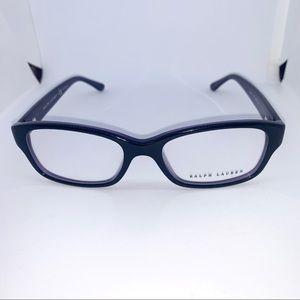 Ralph Lauren Black on Violet Eyeglasses